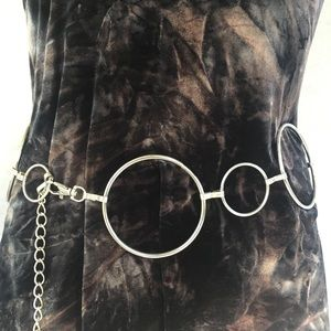 Vintage Metal Ring Belt